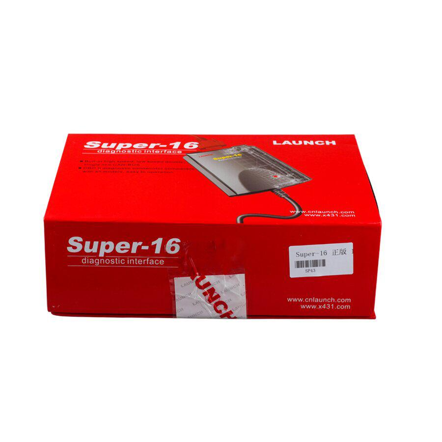 Original Launch X431 Super 16 Diagnostic Connector