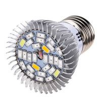 New 28W E27 LED Grow Lamp Flower Seed Plants Hydroponic Grow Light Lamp Bulb Full Spectrum Plant Light Lighting