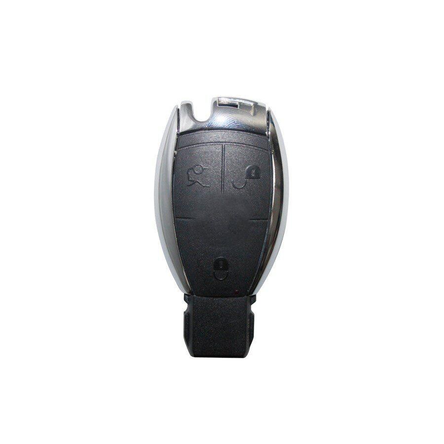 3 Button Chrome Smart Key Shell For Mercedes Benz