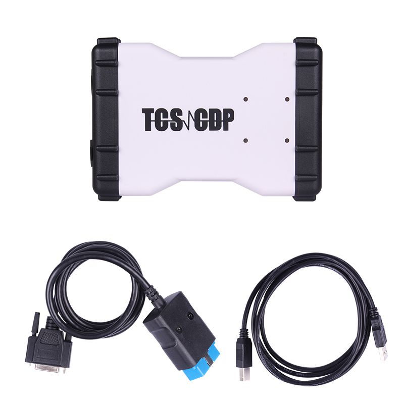 Promotion 2015.3 New TCS CDP+  Auto Diagnostic Tool White Version With Bluetooth
