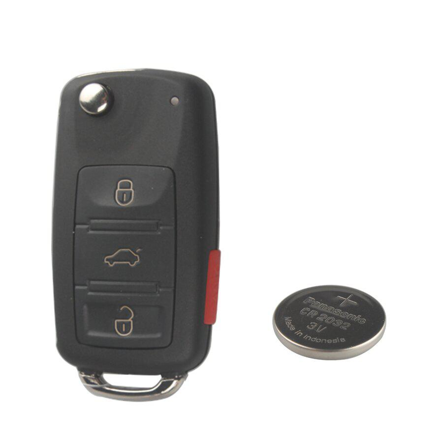 433MHZ 3 Button Remote Key For VW Touareg
