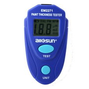 All-Sun EM2271 Paint Thickness Tester Digital Painting Thickness Meter Mini LCD Car Coating Thickness Gauge