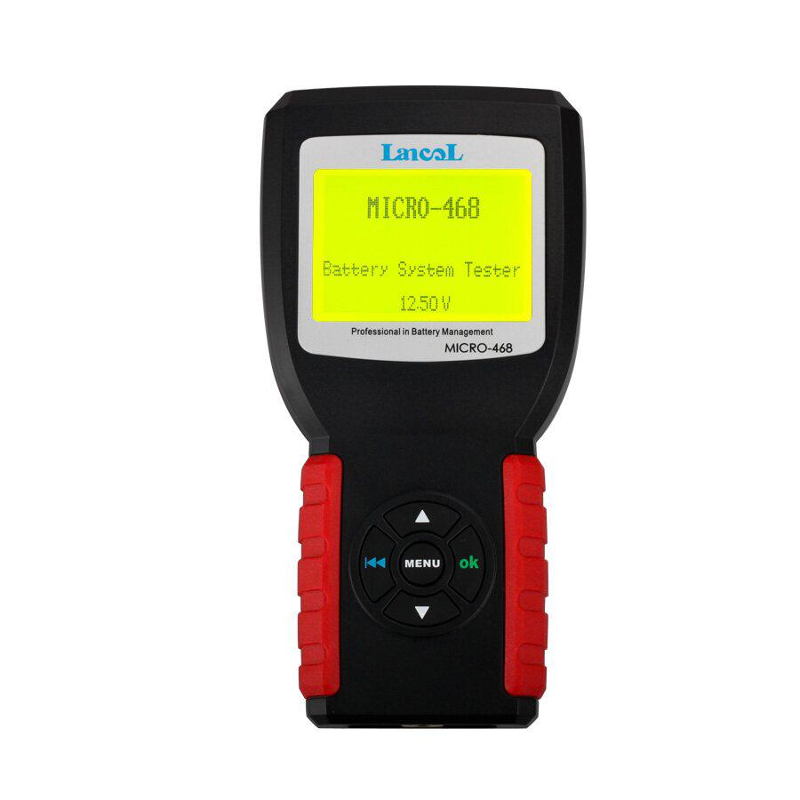 AUGOCOM MICRO-468 Battery Tester Battery Conductance & Electrical System Analyzer With One Year Warranty