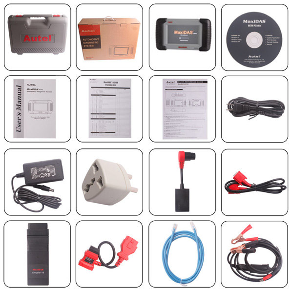 Autel MaxiDAS DS708 Package-1