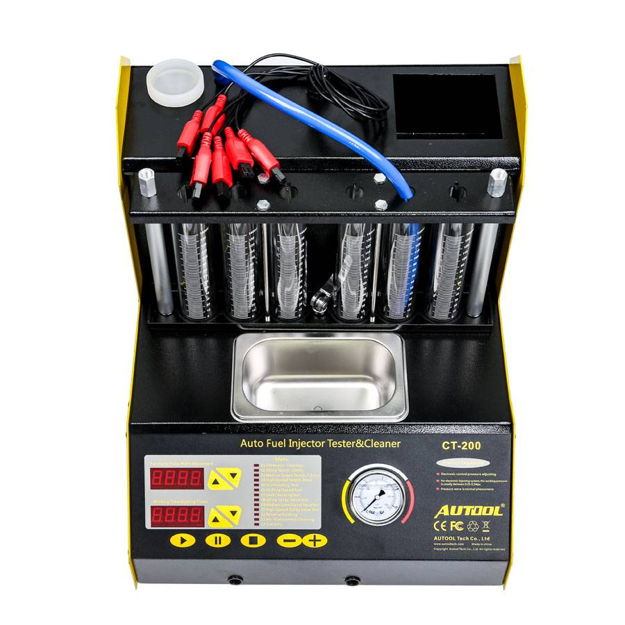 AUTOOL CT200 Ultrasonic Fuel Injector Cleaner & Tester