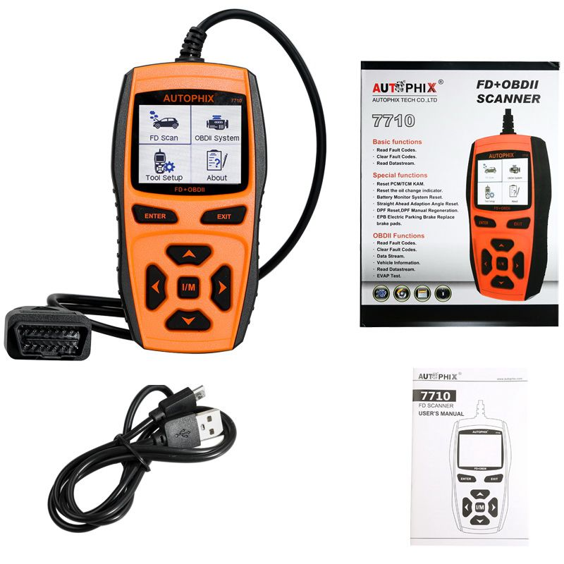 Car Engine OBDII Scanner Fault Code Reader CAN OBD2 Diagnostic Vehicle Tool​ ST
