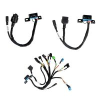 BENZ EIS/ESL Cable+7G+ISM + Dashboard Connector MOE001 Full Set BENZ Cable Work with VVDI MB BGA Tool