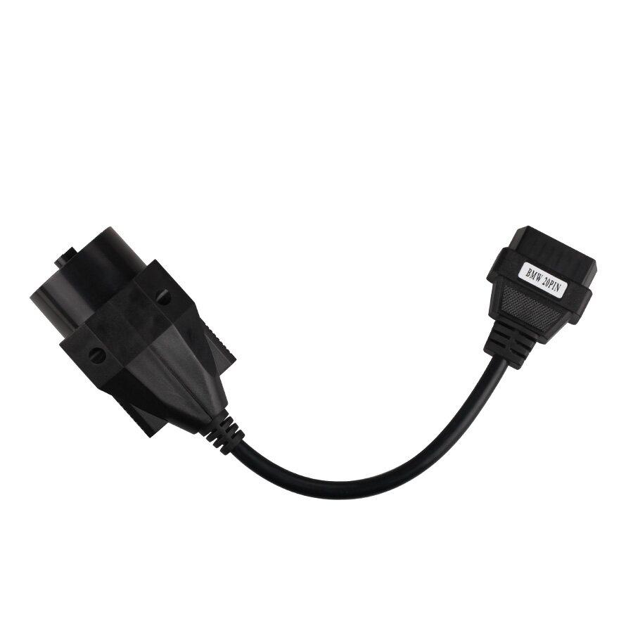 BMW 20 Pin To obd2 16 Pin Connector Free shipping