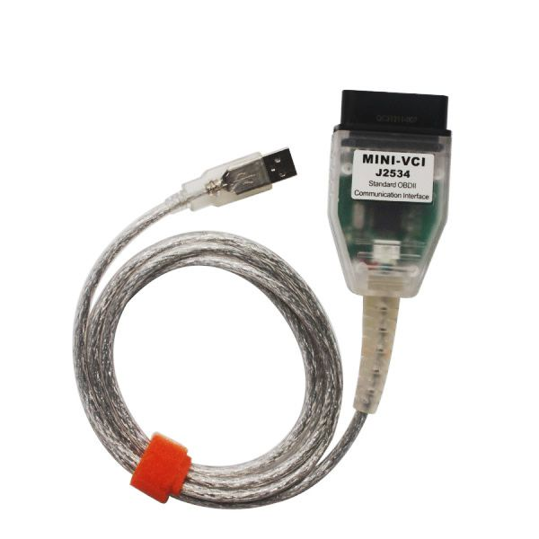 MINI VCI V12.10.019 Single Cable For Toyota Support Toyota TIS OEM Diagnostic Software