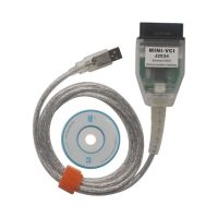 MINI VCI for TOYOTA V14.20.019 Single Cable Support Toyota TIS OEM Diagnostic Software