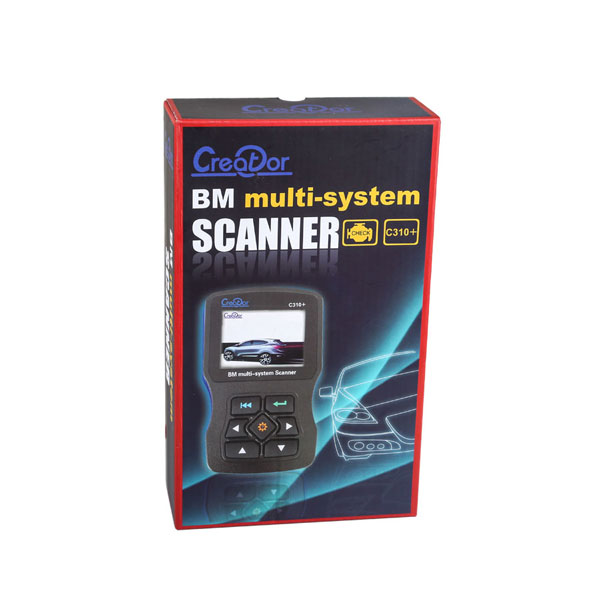 New V7.6 Creator C310+ Multi System Scan Tool for BMW Online Update