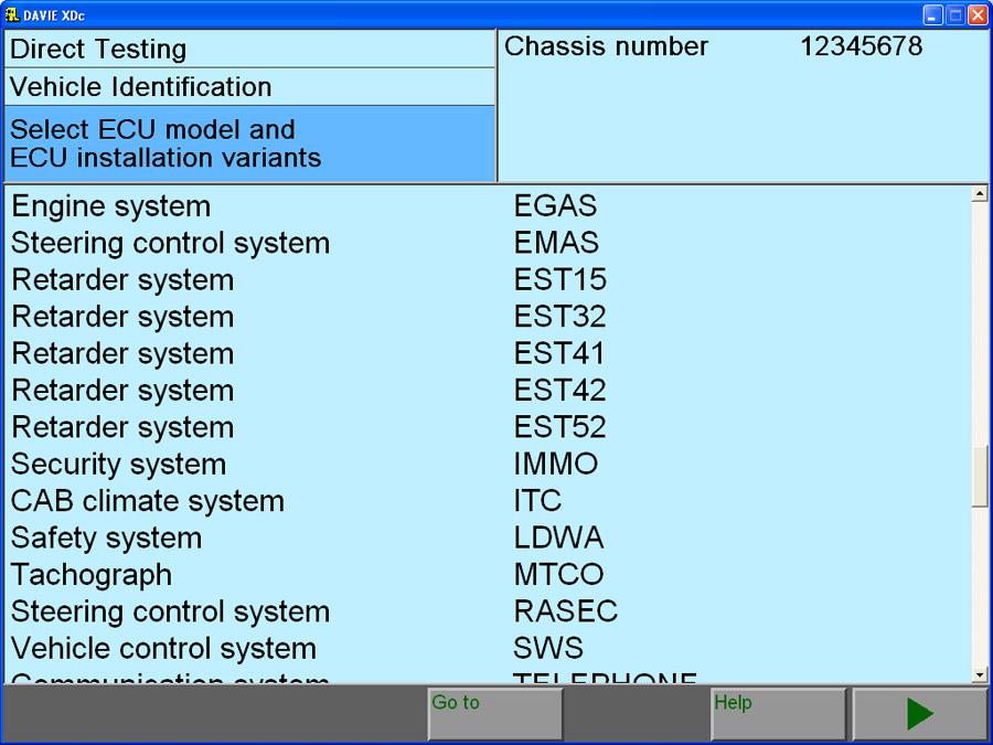 DAF VCI lite (V1) Software 6
