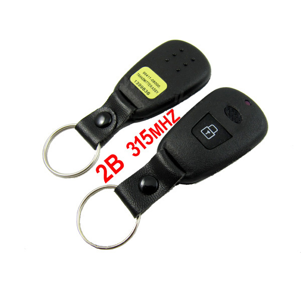 2 Button Remote Key 315MHZ For Hyundai Elantra