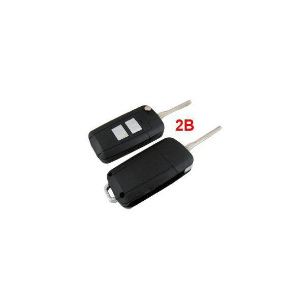 Elantra HD Flip Remote Key Shell For Hyundai 2 Button 10pcs/lot