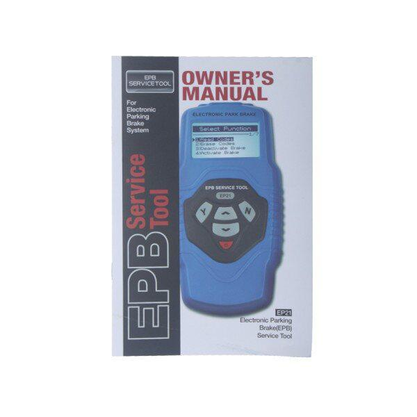 Electronic Parking Brake (EPB) Service Tool EP21 Multilingual And Updatable