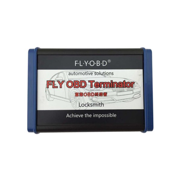 FLY OBD Terminator Locksmith Version Free Update Online with Free J2534 Software