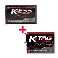 Kess V2 V5.017 SW V2.47 Red PCB EU Online Version Plus Ktag 7.020 SW V2.25 Red PCB EURO Online Version