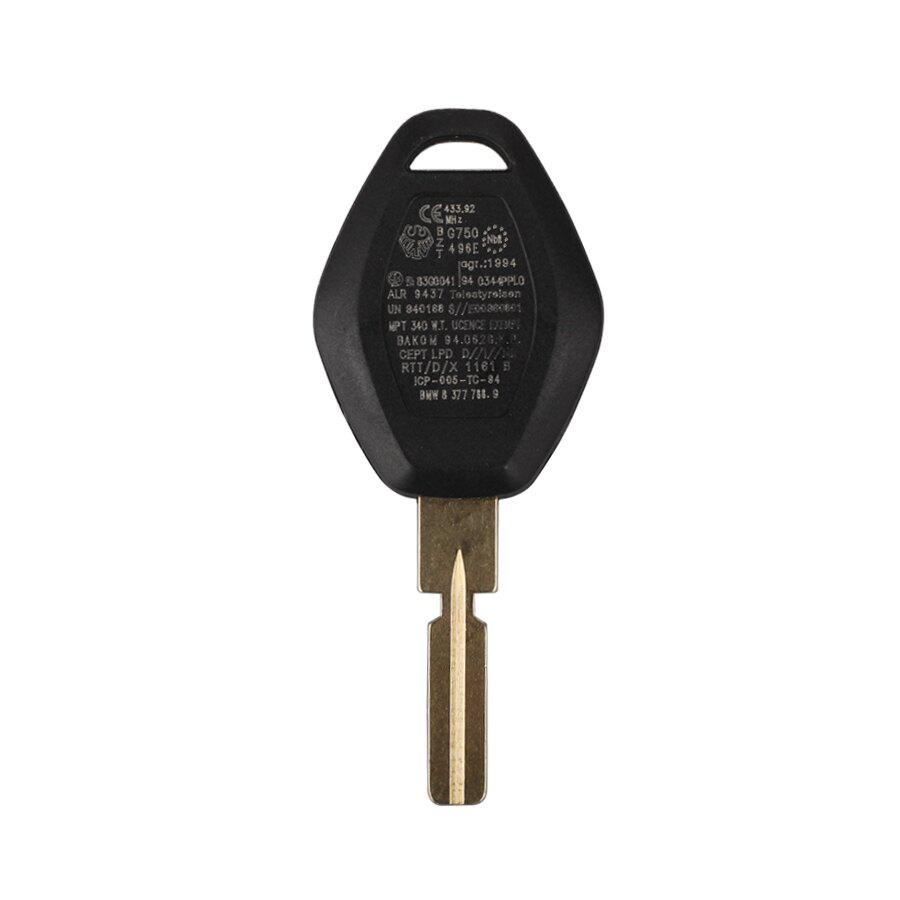 Key Shell 3 Button For BMW 4 Track (back side with the words 433.92MHZ) 10pcs/lot