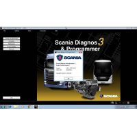 Newest Scania SDP3 2.46.1 Diagnosis & Programming for VCI 3 VCI3 without Dongle