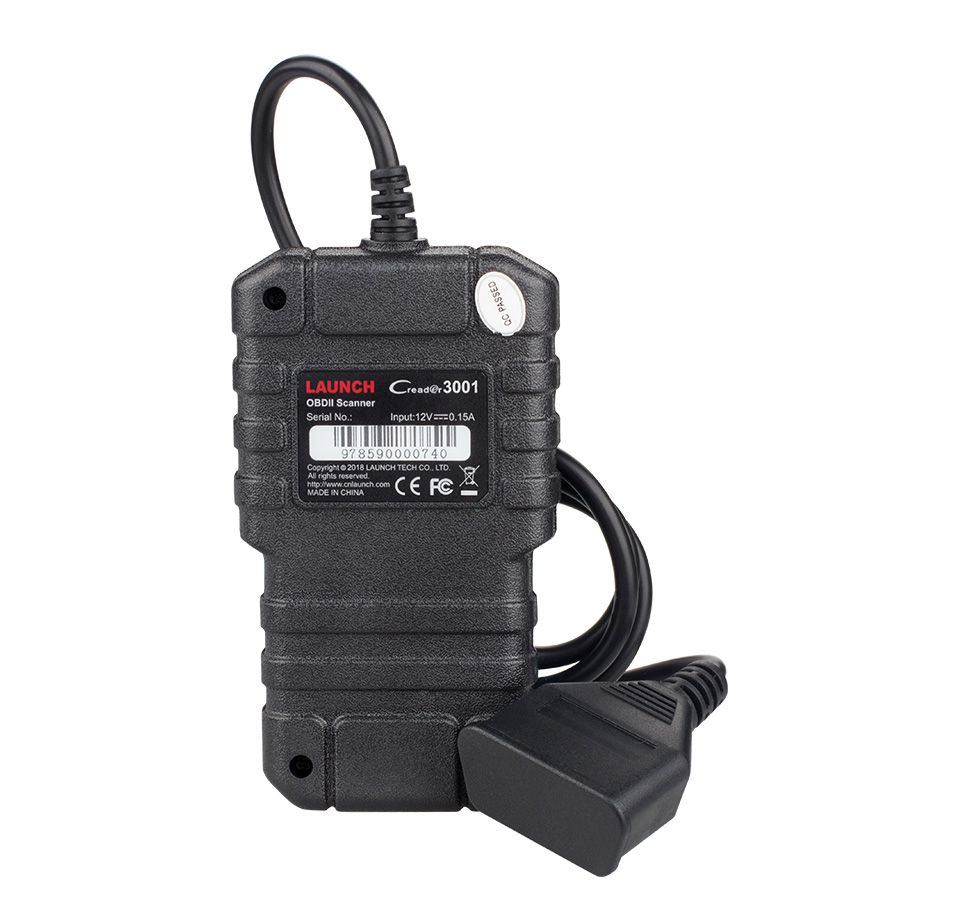LAUNCH X431 Creader 3001 Full OBD2 EOBD Code Reader