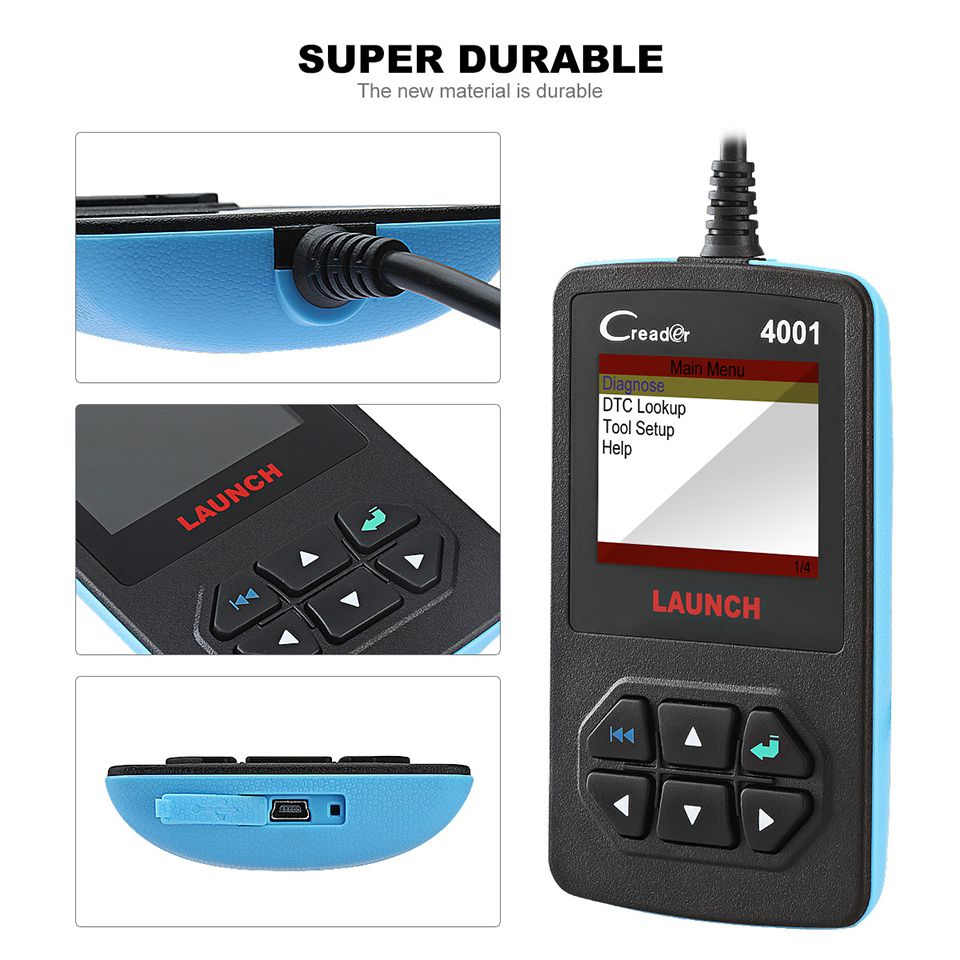 Launch CReader 4001 OBD2 Code Reader Diagnostic Scanner