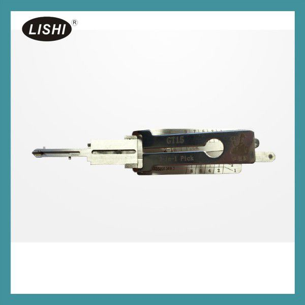 LISHI GT15 2 in 1 Auto Pick and Decoder for Fiat