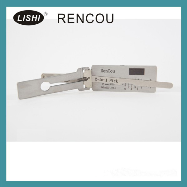 LISHI 2-in-1 Auto Pick and Decoder For Renault(A)