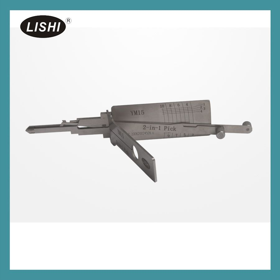 LISHI YM15 2-in-1 Auto Pick and Decoder For BENZ Truck