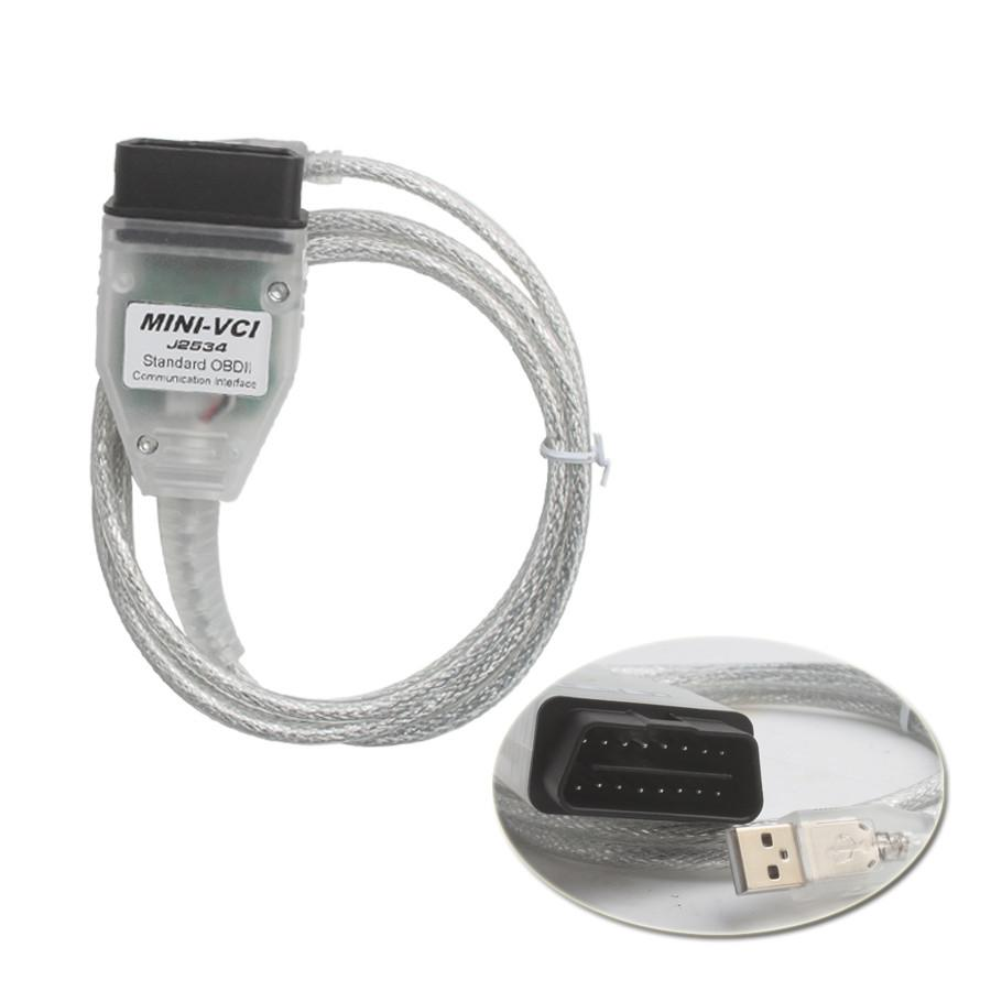 MINI VCI FOR TOYOTA TIS Techstream Firmware V2.0.4 Single Cable Support VPW protocol