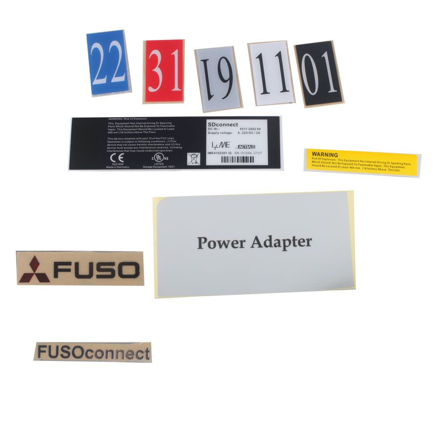 Mitsubishi Fuso C5 Xentry Diagnostic Kit (2012-2016) with Wifi