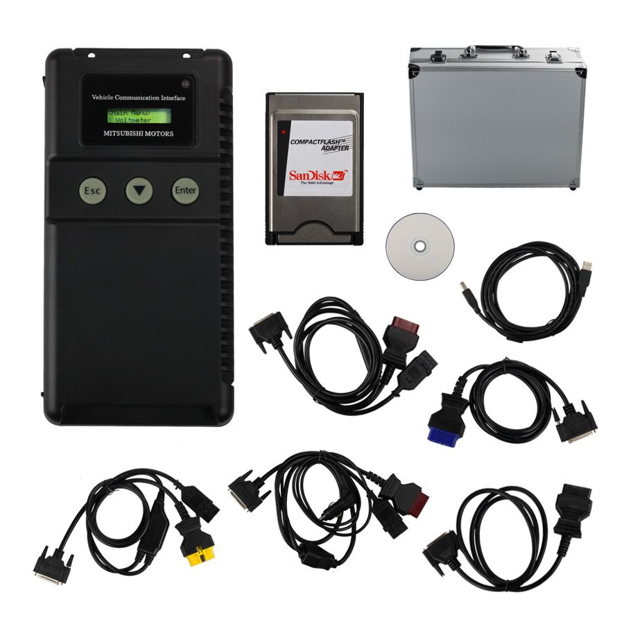 MUT-3 for Mitsubishi Diagnostic And Programming Tool With TF Card For Cars And Trucks