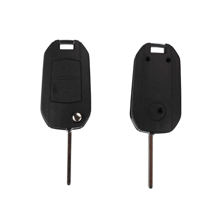 Modified Flip Remote Key Shell For Opel 2 Button (HU100) 5pcs/lot