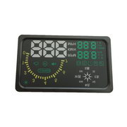 "New 6"" LED OBD-II HUD Head Up Display Over Speeding Warning/Speed /Km rpm /Shift/ light /Temperature"