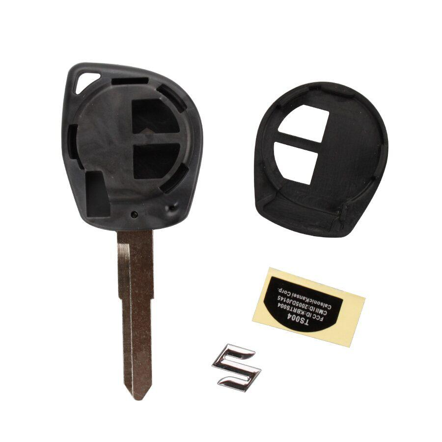 New Remote Key Shell 2 Button For  Suzuki 5pcs/lot