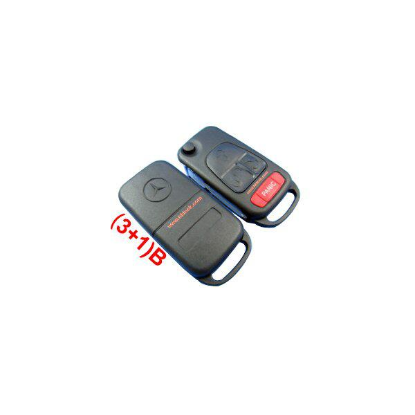 New Remote Key Shell For Benz (3+1) button 5pcs/lot