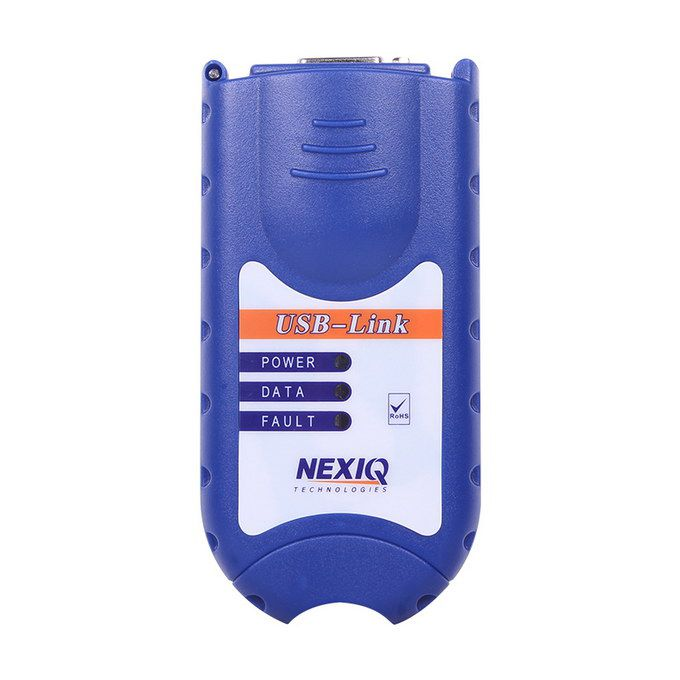 NEX-IQ USB Link + Software Diesel Truck Diagnose Interface And Software Full Set
