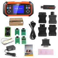 OBDSTAR X300 PRO3 Key Master Full Package Configuration Support Toyota G & H Chip All Keys Lost Free Shipping by DHL