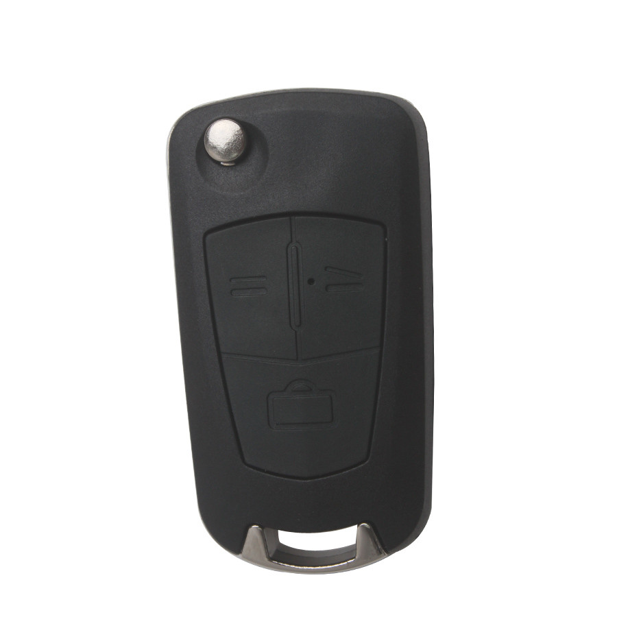 Modified Filp Remote Key Shell For Opel 3 Button (HU100A) 5pcs/lot