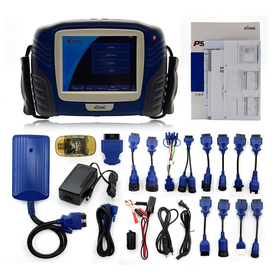 Original Xtool PS2 Professional Automobile Heavy Duty Truck Diagnostic Tool Update Online