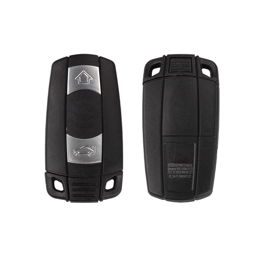 Smart Key 3 Buttons 868MHZ (Keyless-entry) PCF7952 For BMW CAS3 Pure