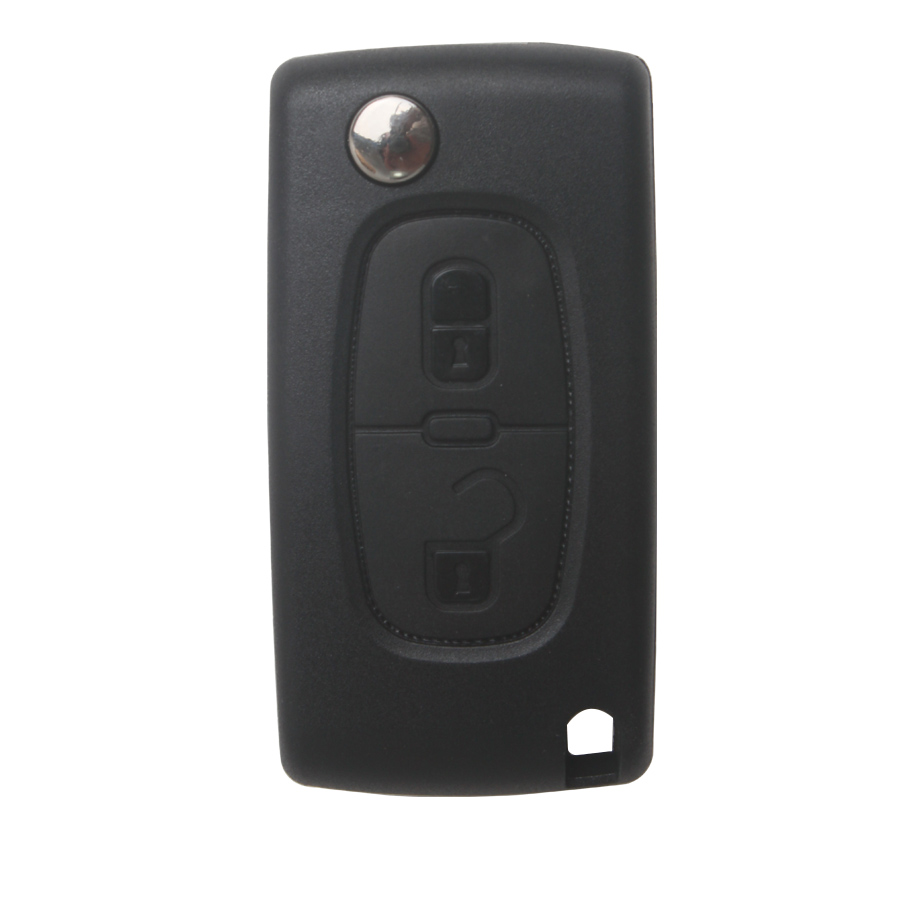 Remote Key For Citroen 2 Button 433MHZ HU83( With groove)