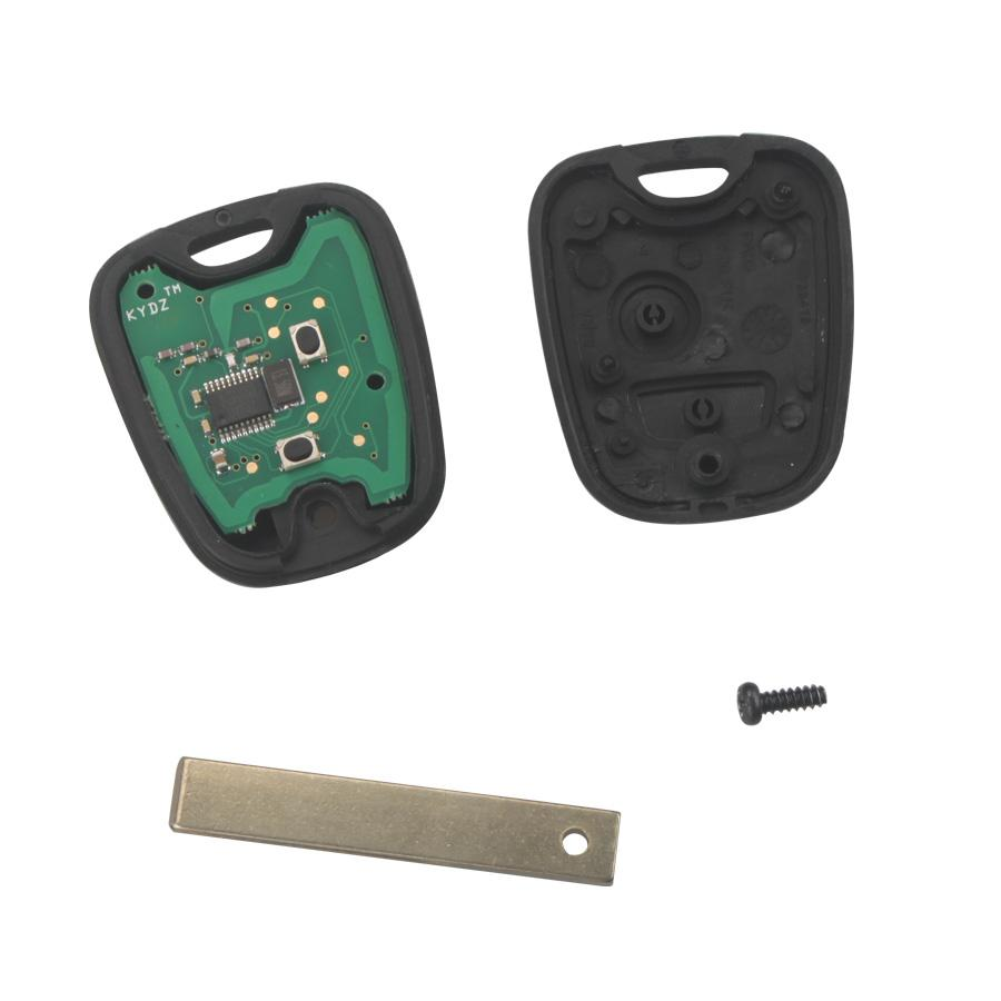 Remote Key For Citroen 2 Button 434MHZ HU83 2B( with groove)