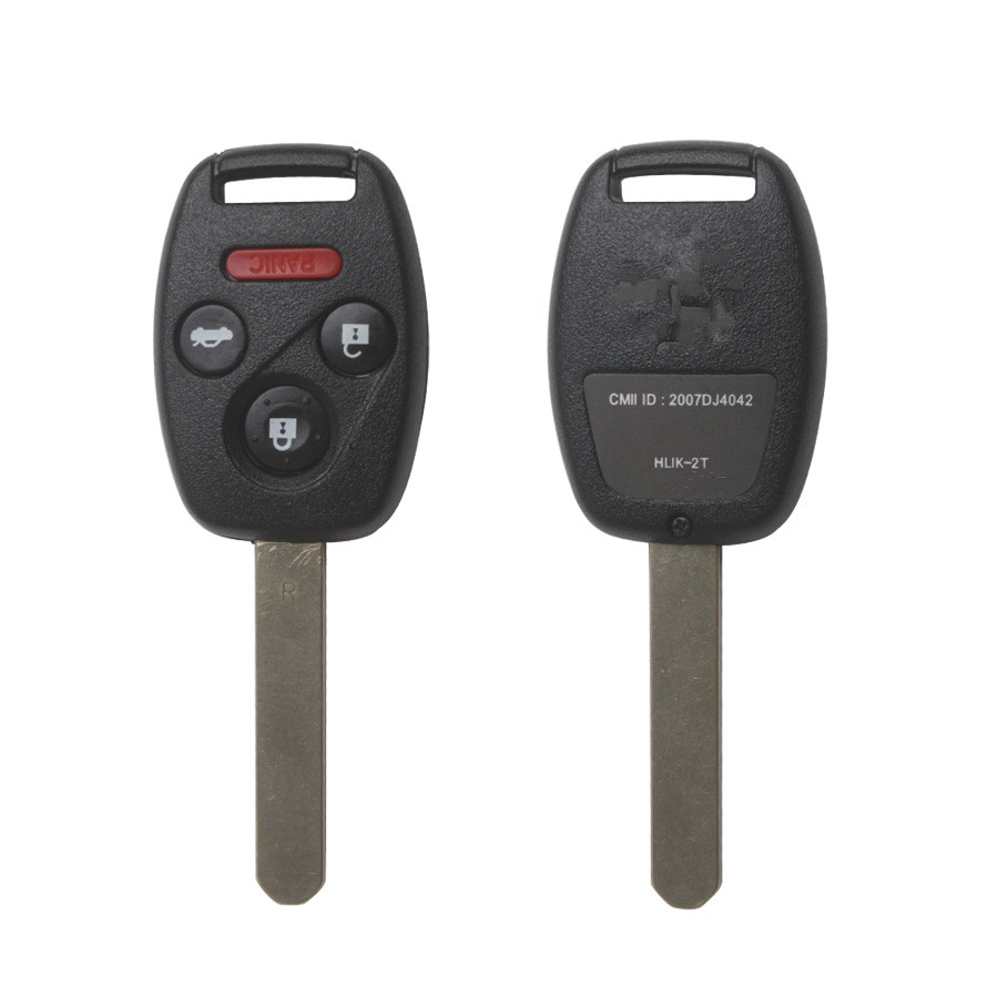 2005-2007 Remote Key For Honda  3+1 Button And Chip Separate ID:48( 433 MHZ ) fit ACCORD FIT CIVIC ODYSSEY