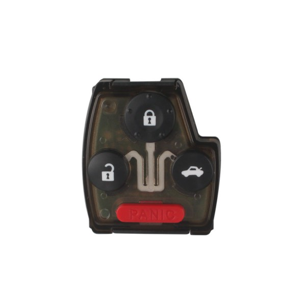 2005-2007 Remote Key For Honda (3+1) Button And Chip Separate ID:46 ( 433 MHZ ) fit ACCORD FIT CIVIC ODYSSEY