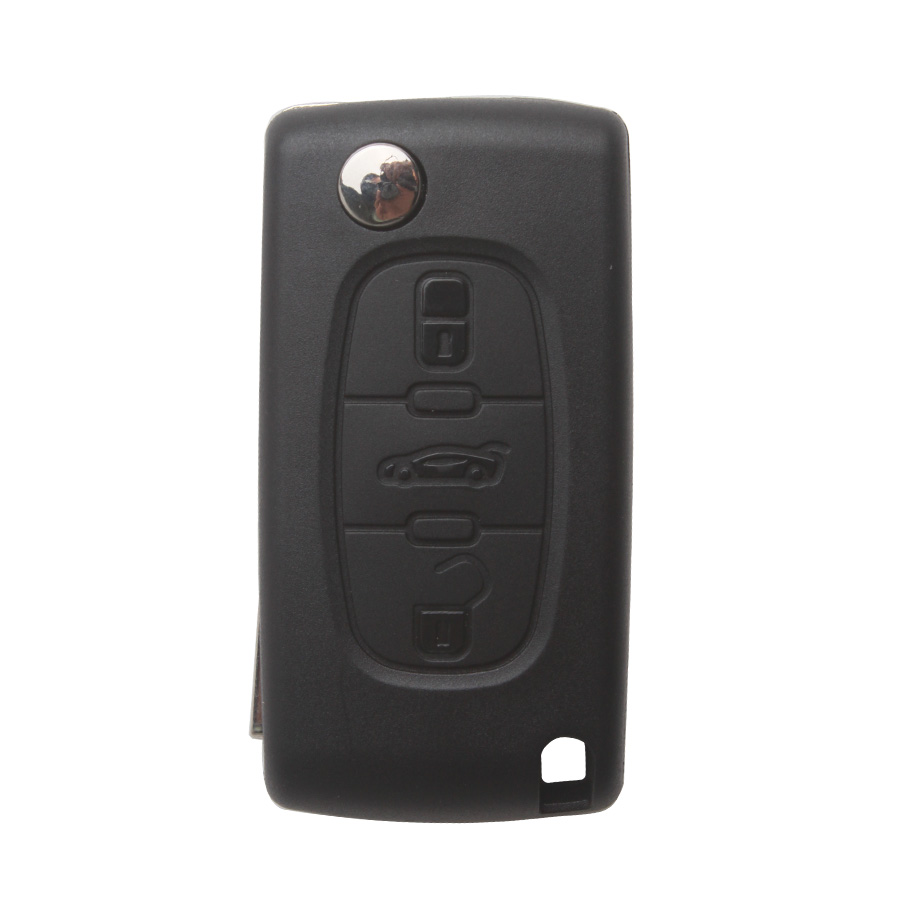 Remote Key For Citroen 3 Button 433MHZ HU83 3B( with groove)