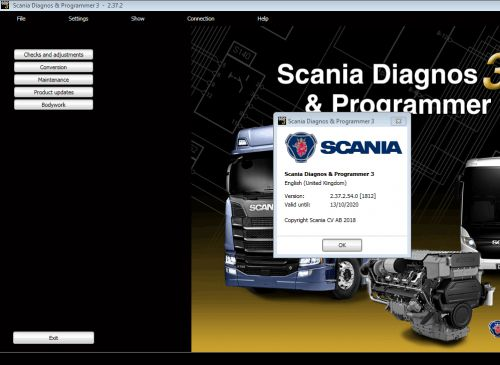 Scania SDP3 2.46.1 Diagnosis & Programming for VCI 3 VCI3 without Dongle