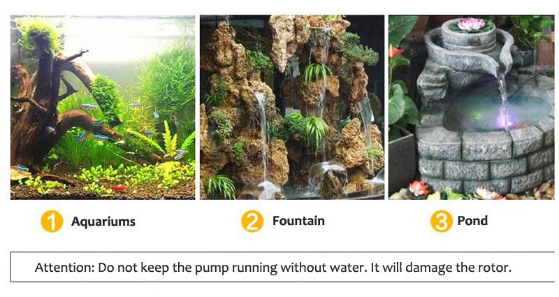 SUNSUN CHJ Series 500-6000L/H Adjustable Aquarium Water Pump