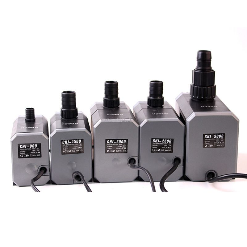 SUNSUN CHJ Series Aquarium Pump 500-6000L/H Adjustable Water Pump Pond Garden Fountain Pump Fish Tank Submersible Pump