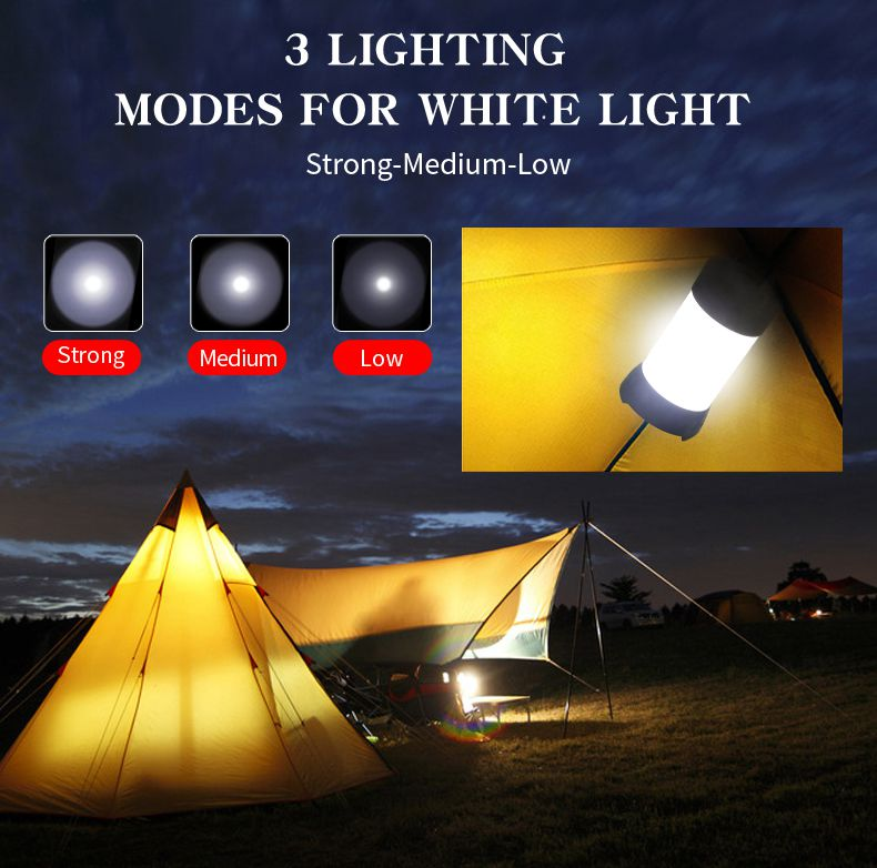 Camping Light Flashlight T1 Camp Lamp LED Torch Light