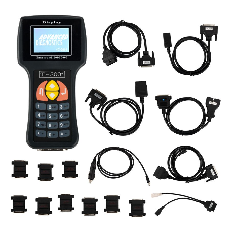 New Arrival T300 T300+ Key Programmer English Version Black